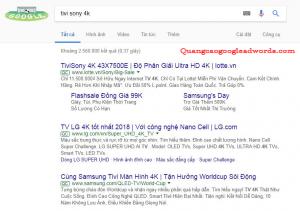 Mau quang cao google adwords